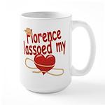 Florence Lassoed My Heart Large Mug