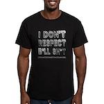 IDRBS Men's Fitted T-Shirt (dark)