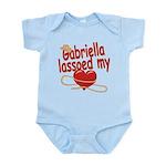 Gabriella Lassoed My Heart Infant Bodysuit