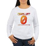 Cares Left 1 Women's Long Sleeve T-Shirt