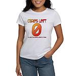 Cares Left 1 Women's T-Shirt