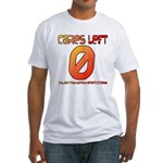Cares Left 1 Fitted T-Shirt