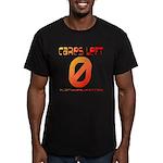 Cares Left 1 Men's Fitted T-Shirt (dark)