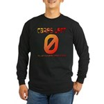 Cares Left 1 Long Sleeve Dark T-Shirt