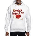 Gabrielle Lassoed My Heart Hooded Sweatshirt