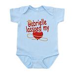 Gabrielle Lassoed My Heart Infant Bodysuit