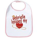 Gabrielle Lassoed My Heart Bib