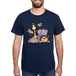 Jungle Animals Dark T-Shirt