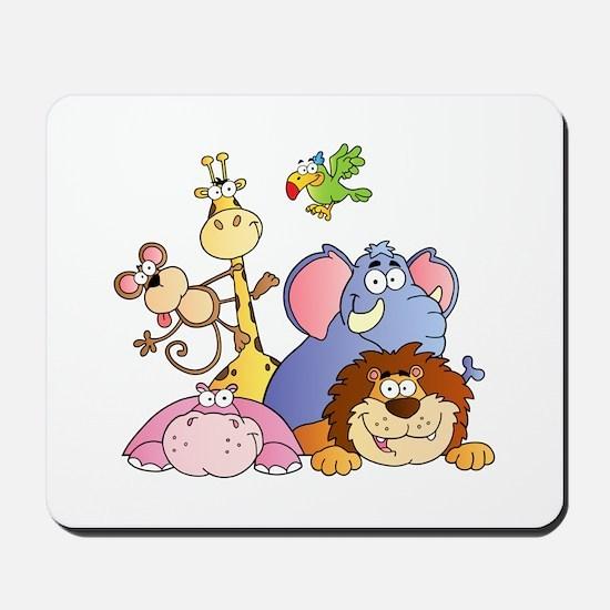 Jungle Animals Mousepad