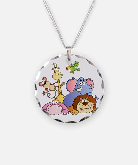 Jungle Animals Necklace