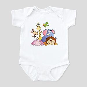Jungle Animals Infant Bodysuit