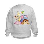 Jungle Animals Kids Sweatshirt