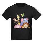 Jungle Animals Kids Dark T-Shirt