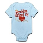 Geraldine Lassoed My Heart Infant Bodysuit