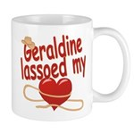Geraldine Lassoed My Heart Mug