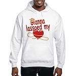 Gianna Lassoed My Heart Hooded Sweatshirt