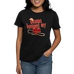 Gianna Lassoed My Heart Women's Dark T-Shirt