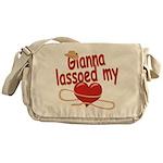 Gianna Lassoed My Heart Messenger Bag
