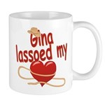Gina Lassoed My Heart Mug