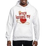 Grace Lassoed My Heart Hooded Sweatshirt