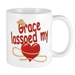 Grace Lassoed My Heart Mug