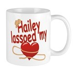 Hailey Lassoed My Heart Mug