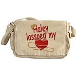 Haley Lassoed My Heart Messenger Bag