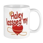 Haley Lassoed My Heart Mug