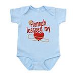 Hannah Lassoed My Heart Infant Bodysuit