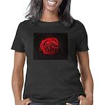 Red Rose flower Women's Classic T-Shirt