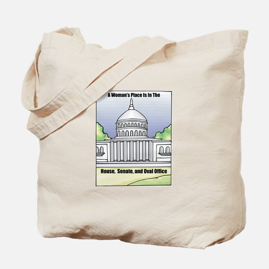 Woman's Place Tote Bag