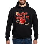 Heather Lassoed My Heart Hoodie (dark)