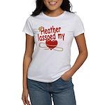 Heather Lassoed My Heart Women's T-Shirt