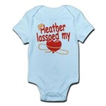 Heather Lassoed My Heart Infant Bodysuit