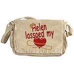 Helen Lassoed My Heart Messenger Bag