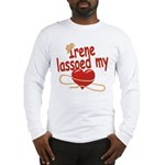 Irene Lassoed My Heart Long Sleeve T-Shirt