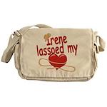 Irene Lassoed My Heart Messenger Bag