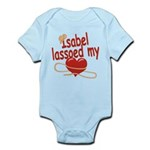 Isabel Lassoed My Heart Infant Bodysuit
