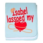Isabel Lassoed My Heart baby blanket