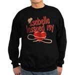 Isabella Lassoed My Heart Sweatshirt (dark)