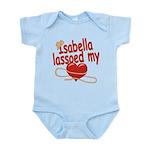 Isabella Lassoed My Heart Infant Bodysuit