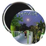 "Greenville Liberty Bridge 2.25"" Magnet (10 pack)"