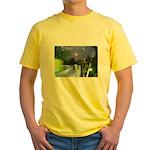 Greenville Liberty Bridge Yellow T-Shirt