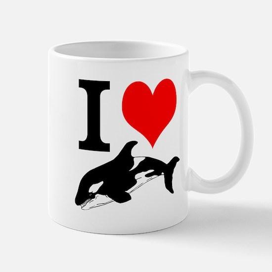 I Heart Whales Mug