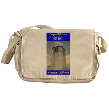 Compton High Bell Tower Messenger Bag