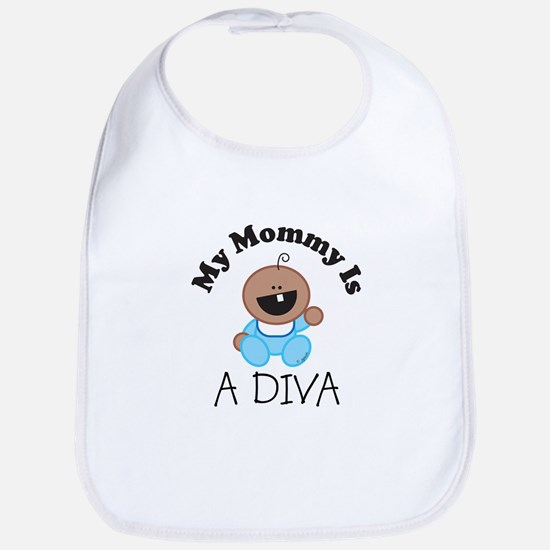 My Mommy Is A DIVA (boy2) Bib