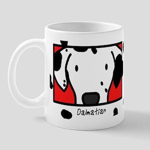 Anime Dalmatian Mug