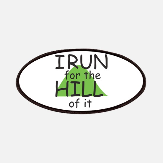 Funny Hill Running Patches