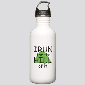 Funny Hill Running Stainless Water Bottle 1.0L