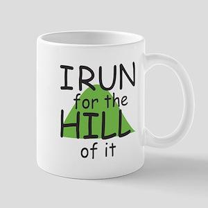 Funny Hill Running Mug